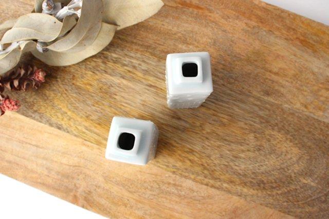 いっちん四角花器 小 陶磁器 砥部焼 陶彩窯 画像4