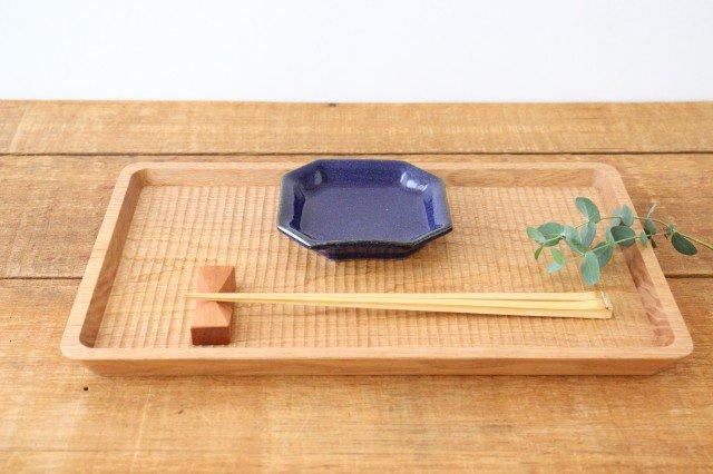 隅入小皿 瑠璃釉 陶器 寺村光輔 画像5