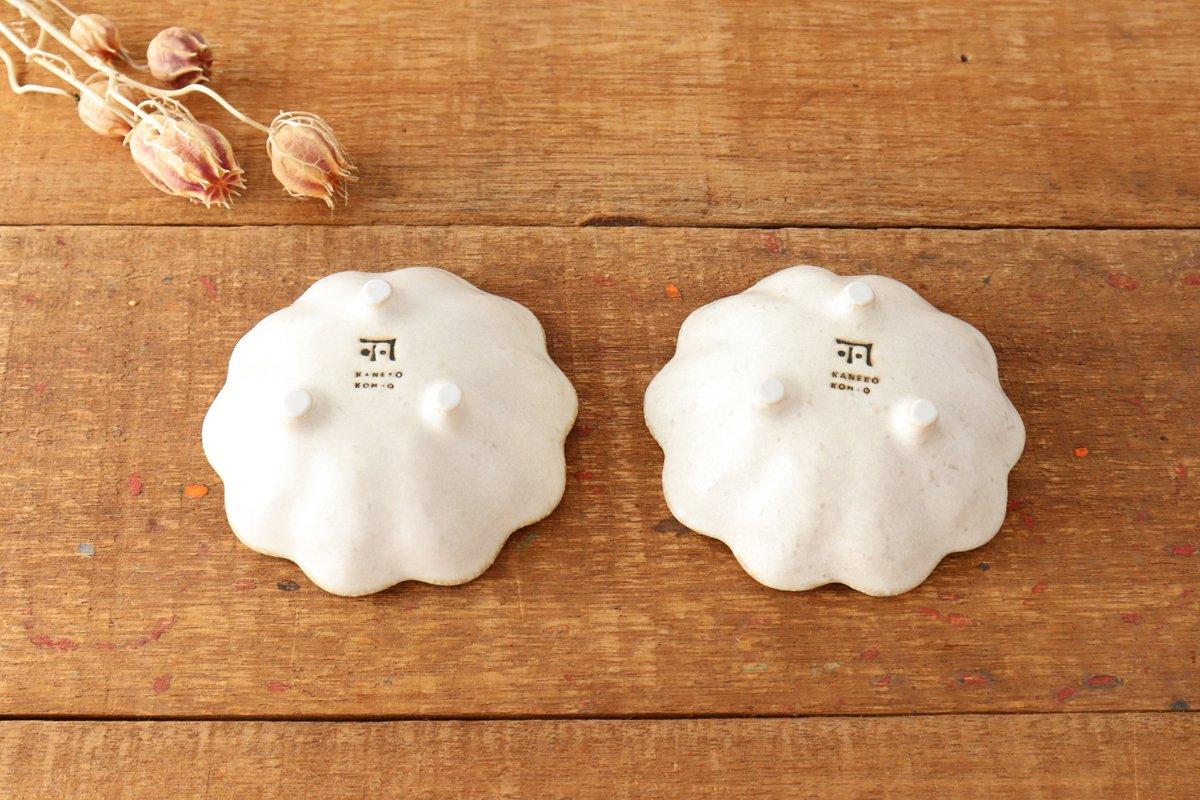 美濃焼 菊花 3寸小鉢 白 磁器 画像5