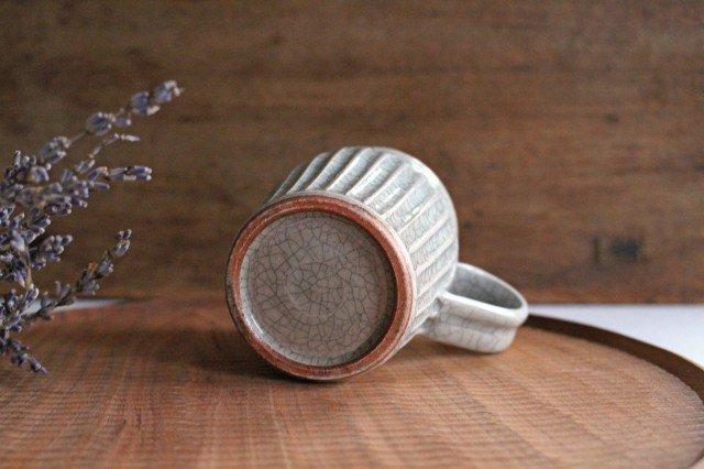 ピッチャー 小 墨入貫入 陶器 はなクラフト 画像3