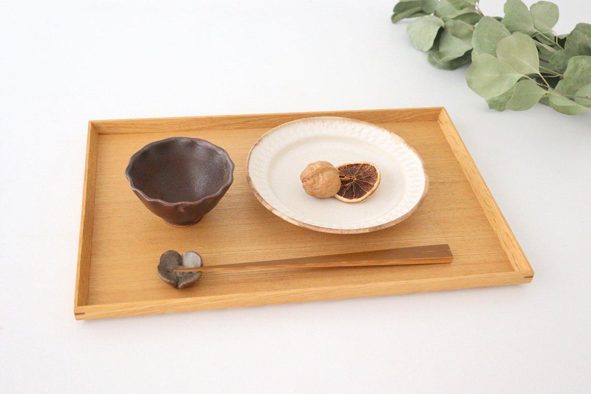 ブラウン波豆鉢 陶器 中野明彦 画像6