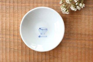 丸小皿 くらわんか茶碗 磁器 森陶房商品画像