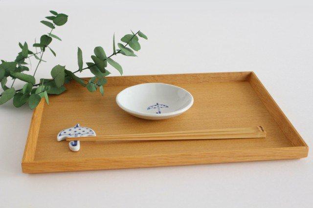 丸小皿 傘ドット 磁器 森陶房 砥部焼 画像2