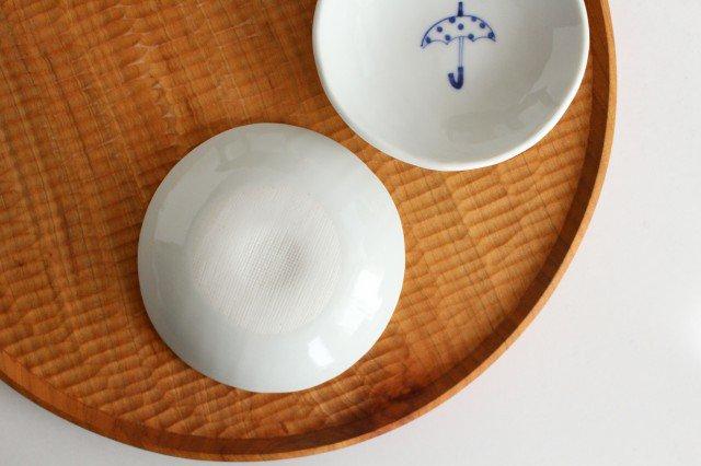 丸小皿 傘ドット 磁器 森陶房 砥部焼 画像6