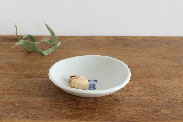 丸小皿 こけし しましま 磁器 森陶房 砥部焼 画像3