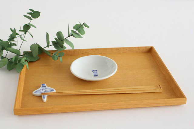 丸小皿 こけし しましま 磁器 森陶房 砥部焼 画像4