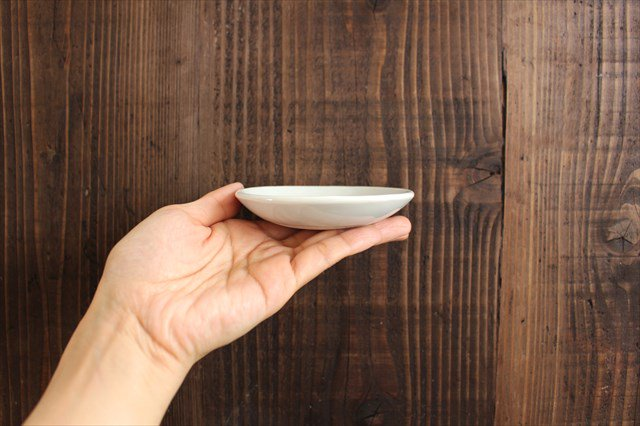 丸小皿 こけし しましま 磁器 森陶房 砥部焼 画像5