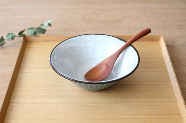サラダボウル トルコブルー 陶器 美濃焼  画像3