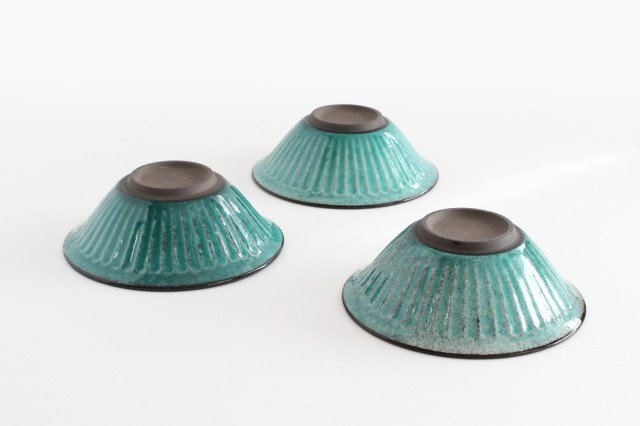美濃焼 サラダボウル トルコブルー 陶器 画像4