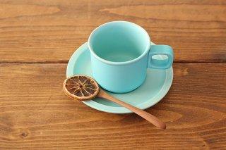 4th-market スティルク ティーカップ&ソーサー 水色 半磁器商品画像