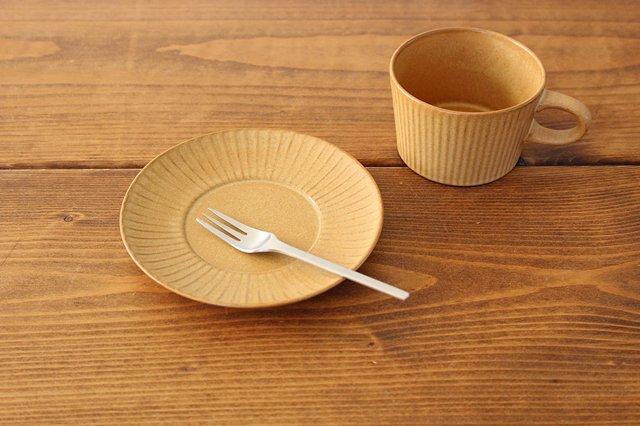 4th-market プラート ティーカップ&ソーサー カーキオリーブ 陶器 画像2