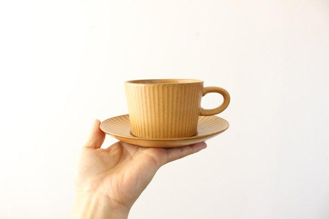 4th-market プラート ティーカップ&ソーサー カーキオリーブ 陶器 画像3