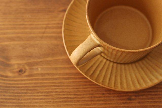4th-market プラート ティーカップ&ソーサー カーキオリーブ 陶器 画像5