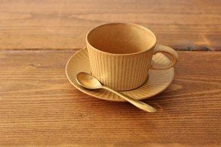 4th-market プラート ティーカップ&ソーサー カーキオリーブ 陶器商品画像