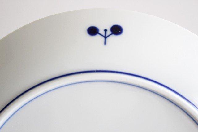 白山陶器 ブルームリース プレート M 磁器 波佐見焼 画像6