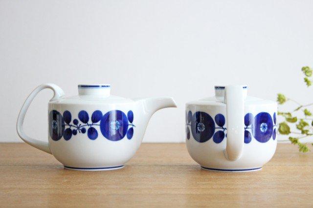 白山陶器 ブルーム リース ティーポット 磁器 波佐見焼 画像3