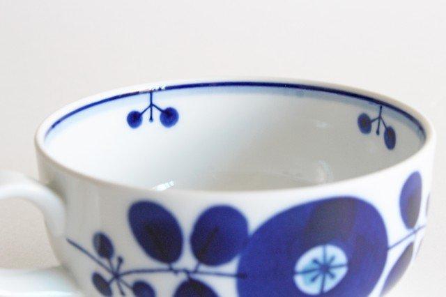 白山陶器 ブルームリース  ティーカップ&ソーサー 磁器 波佐見焼 画像2