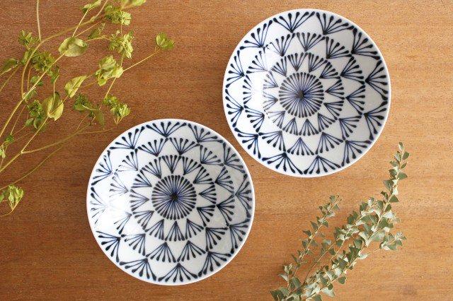 白山陶器 平茶碗 P-8 磁器 波佐見焼 画像2