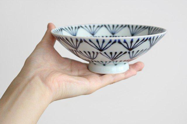 白山陶器 平茶碗 P-8 磁器 波佐見焼 画像3