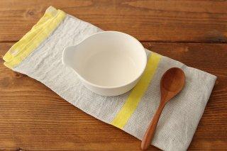 《耐熱陶器》 アクアコッタ とんすい 白 4th-market 商品画像