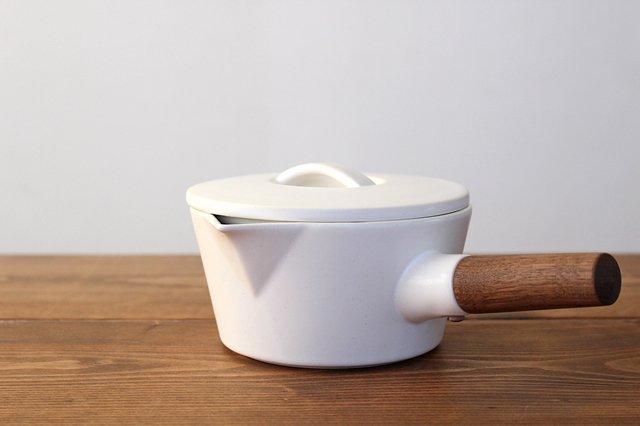 ブロックプレート 粉引 陶器 伊藤豊 画像5