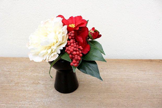 【うちるオリジナル】アートフラワー お正月アレンジメント ichirin花 画像2