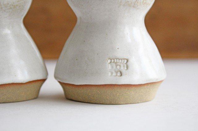 オブジェ 人形 レインコートさん 陶器 キエリ舎 画像3