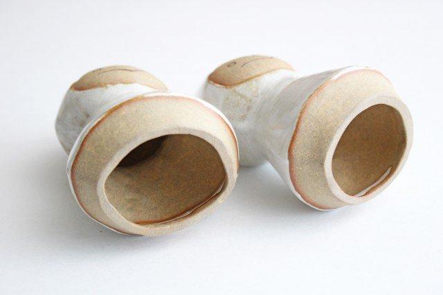 オブジェ 人形 レインコートさん 陶器 キエリ舎 画像5