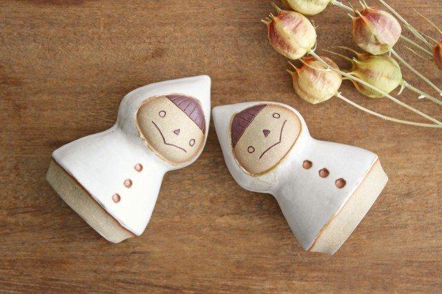 オブジェ 人形 レインコートさん 陶器 キエリ舎 画像6