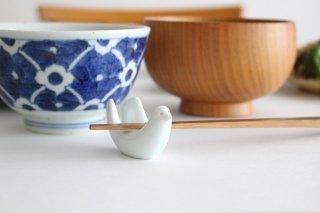 白山陶器 とり型はしおき 磁器 波佐見焼商品画像