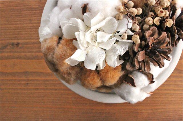 【うちるオリジナル】冬アレンジメント プリザーブド&ドライフラワー ichirin花 画像5