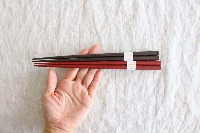 拭き漆のお箸セット  中川政七商店 画像5