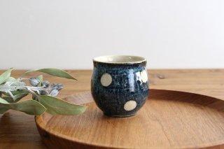美濃焼 ドット 湯のみ 陶器商品画像