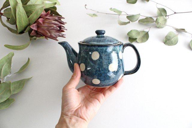 美濃焼 ドット ポット 陶器 画像4