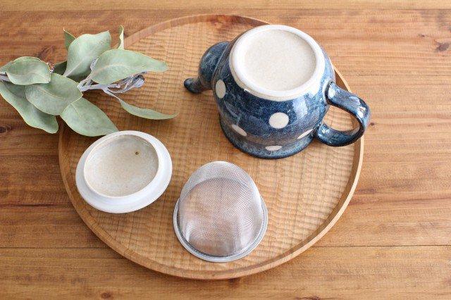 美濃焼 ドット ポット 陶器 画像5
