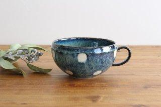 美濃焼 ドット スープカップ 陶器商品画像