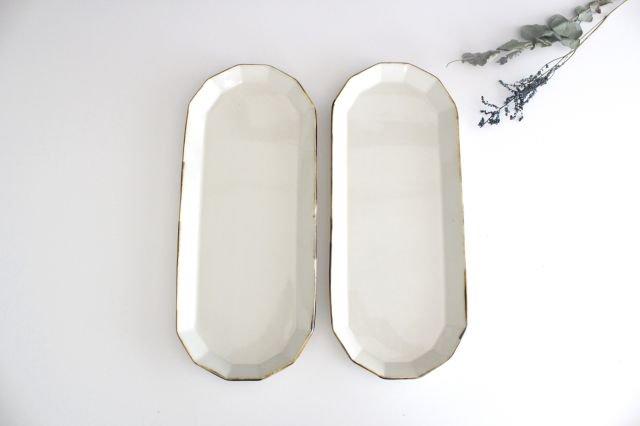サンマ皿 ホワイト 半磁器 アトリエキウト 小出麻紀子 画像6