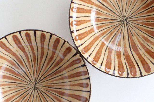 美濃焼 中平鉢 麦藁手(橙)【B】 陶器 画像5