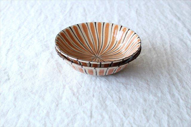 美濃焼 中平鉢 麦藁手(橙)【B】 陶器 画像6
