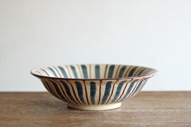 美濃焼 中平鉢 麦藁手(青)【A】 陶器 画像4