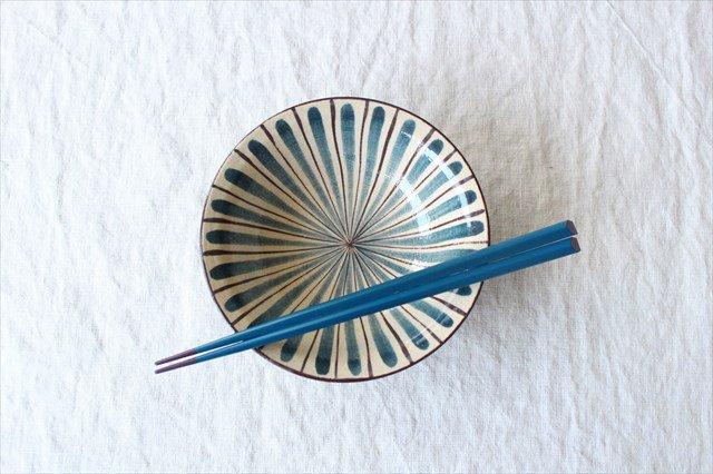 美濃焼 中平鉢 麦藁手(青)【A】 陶器 画像6