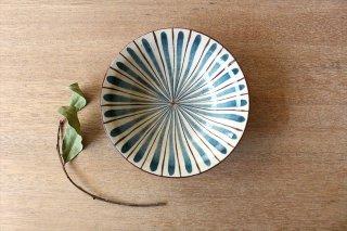 美濃焼 中平鉢 麦藁手(青)【A】 陶器商品画像