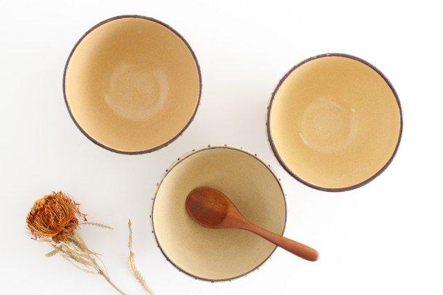 丼 麦藁手 橙 陶器 美濃焼  画像4