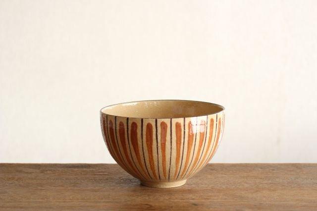 美濃焼 丼 麦藁手 (橙) 陶器 画像6