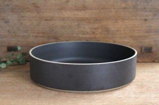 HASAMI PORCELAIN 平ボウル 22cm ブラック 半磁器 波佐見焼商品画像