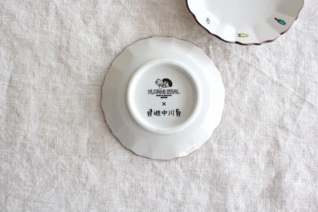 KUTANI SEAL 子皿 奈良 磁器 中川政七商店 画像3