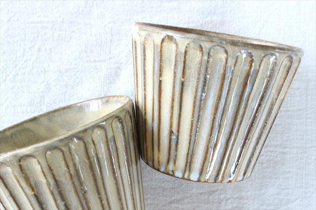 角皿 大 格子 陶器 一翠窯 画像6