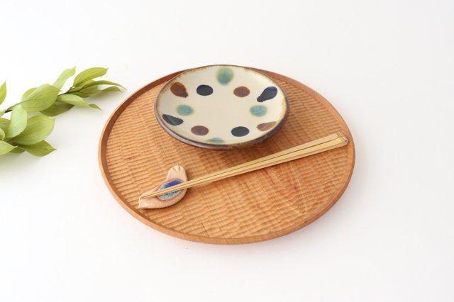 5寸皿 水玉 陶器 エドメ陶房 画像6