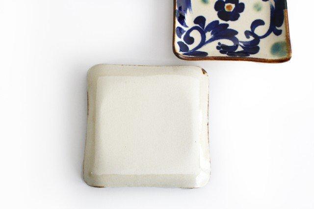 デザートプレート 唐草紋 陶器 エドメ陶房 やちむん 画像3