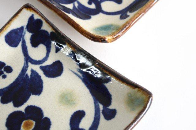 デザートプレート 唐草紋 陶器 エドメ陶房 やちむん 画像5